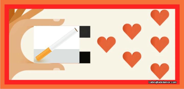 amarre para atraer el amor con cigarro
